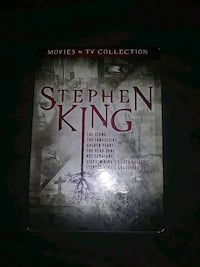 BRAND NEW!!! STEPHEN KING MOVIE/TV COLLECTION DVDS Brea, 92821
