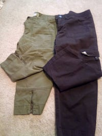 black and gray cargo shorts Asheville, 28805