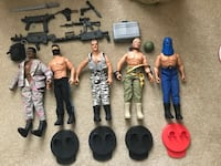 "GI Joe's 12"" soldiers Bel Air"