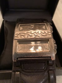 Guess Watch Dual Clocks - leather band.. Henderson, 89002