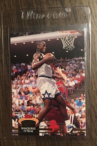 Shaquille O'Neal rookie card Stockton, 95203