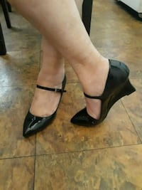 2 inch Wedge Heel Patton Leather Los Angeles, 90043