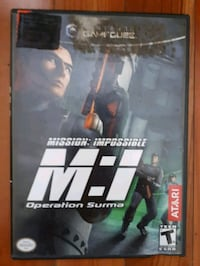 Jeu nintendo gamecube Mission Impossible game Montréal, H1Y 1Z6