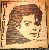 Micheal Jackson burning front and back!