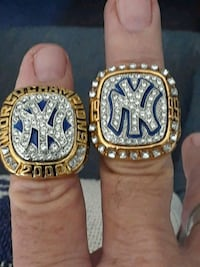 New York Yankees 1999 and 2000 Championship Ring Chandler, 85224
