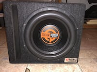 black and gray MTX Audio subwoofer Kitchener, N2R 1L6