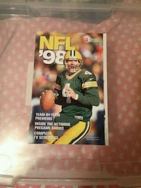 Tv guide pull out section,Brett Favre 1998 Issaquah, 98027