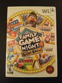 Family Game Night 4 for Nintendo Wii  Vaughan, L4L 6Z5