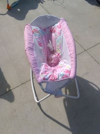 baby's pink and white bouncer Chesapeake, 23321