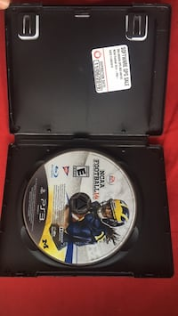 NCAA 14 for sony ps3 game disc with case and insurance. 28 km