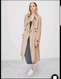 BABATON Nicky Aritzia Trench size medium Burnaby, V3N 1R7