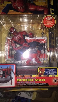 Marvel spider-man action figure in pack