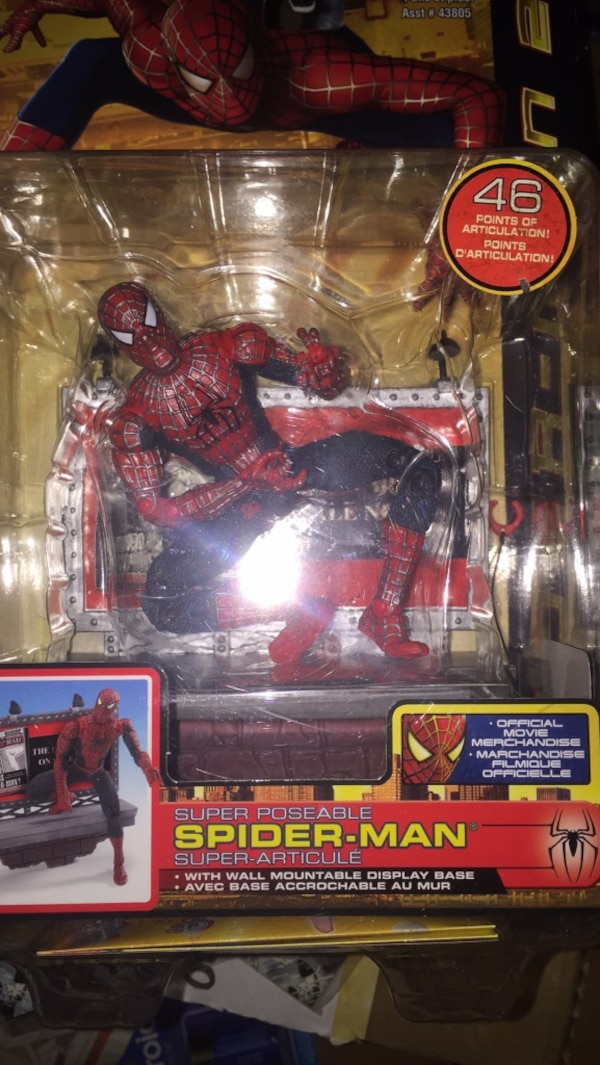 Marvel spider-man action figure in pack 9d424471-a35d-4d34-be61-a843f1b3626d