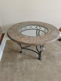 Beautifully Finished Wrought Iron , wood & glass table Lake Forest, 92630