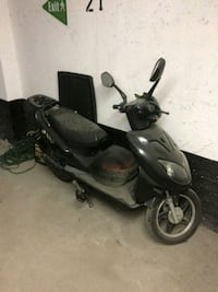 black and gray motor scooter Toronto, M4R 1B1