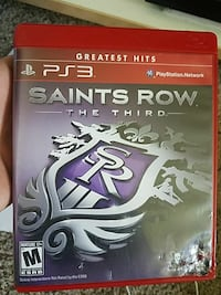 Saints Row The Third PS3 game case