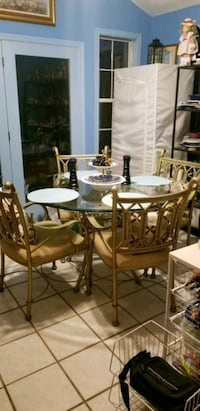 Fabulous Gold Dining Table Woodbridge, 22193
