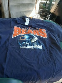 Chicago Bears t-shirt extra large $3 Triangle, 22172