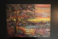 brown and green trees painting Ottawa, K2S