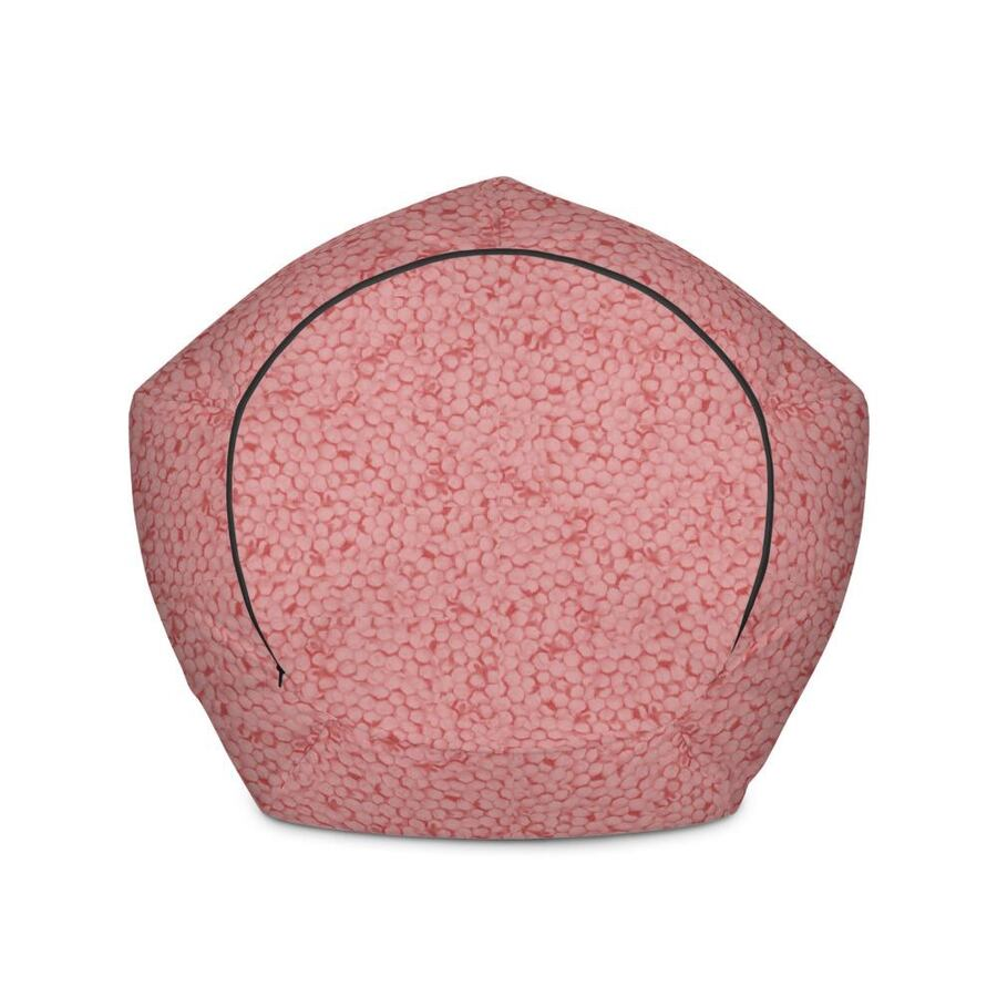 Pink Bean bag chair 2