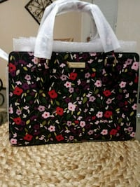 black and red floral tote bag Ewing Township, 08618