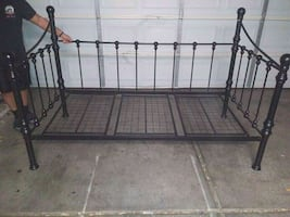 Black Twin Bed Frame