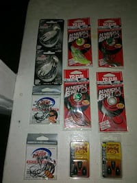 New unopened fishing tackle... Yo-zuri spinnerbaits,  hooks and more Midwest City, 73110