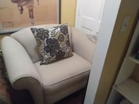 white and brown floral sofa chair Lithonia, 30038