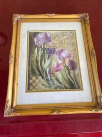Frames floral painting