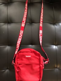 Supreme Shoulder Bag (SS18) Red Toronto, M4X 1M2