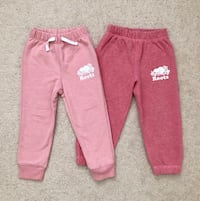 2 pairs Roots toddler girl's Sweatpants Mississauga, L5M 0H2