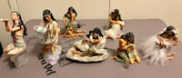 Ashton Drake Galleries Native Americans Set Of 7