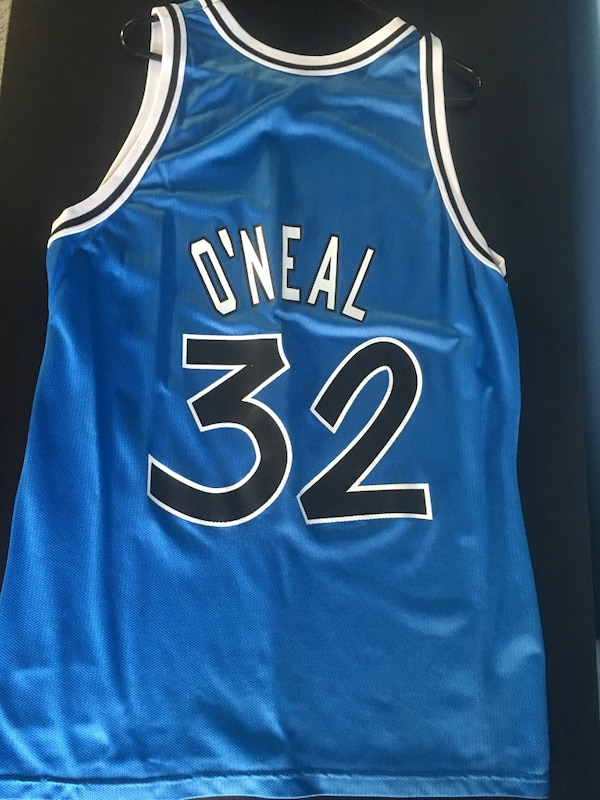 ff3f68655 Used Vintage Champion Shaquille O Neal Orlando Magic jersey for sale in San  Jose
