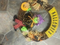 brown and yellow Halloween-themed wreath Edmonton, T5C 2H7