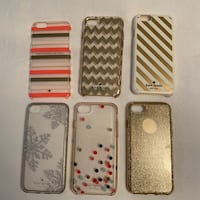 Six iPhone 6/6s/7/8 Phone Cases Calgary, T3E 2K3