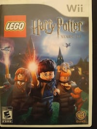 Nintendo Wii Lego Harry Potter Years 1-4 Vaughan, L4L