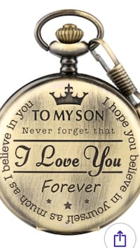 To My Son Pocket Watch Livonia, 48154