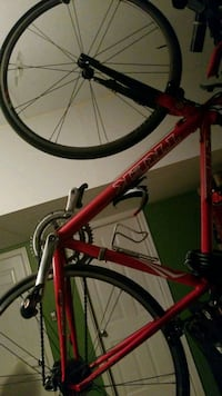 red and black hardtail bike Capitol Heights, 20743