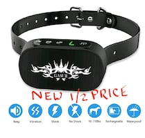Dog Bark Collar, 7 Levels and 3 Modes NEW ½ RETAIL