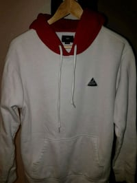 white and red zip-up jacket St. John's, A1E 6J4