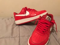 RED AND WHITE AIR FORCE ONES SIZE 9 1/2  Hopkinsville, 42240