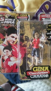 Gina Conviction Carano vinyl figure pack Toronto, M9N 2K5
