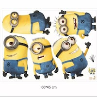 Minion wall decor/decals  Markham, L6C 0K8