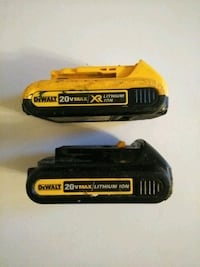 Two DeWalt 20 volt Tampa, 33613
