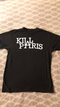 Kill Paris Shirt Size Large Arvada, 80004