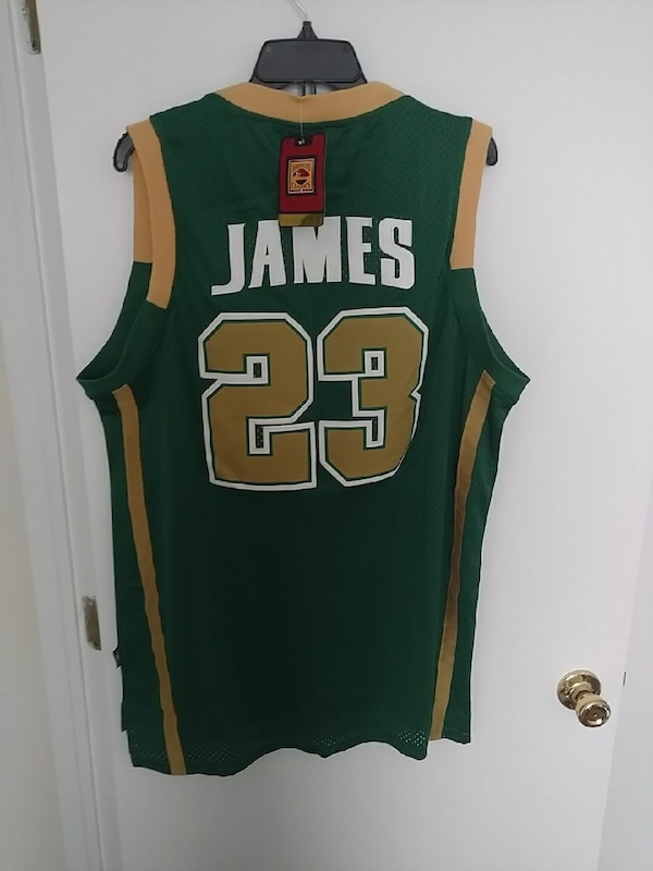be9d45772109 Used Lebron Nike Irish highschool jersey for sale in Stow - letgo