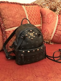 Authentic MCM medium backpack with detachable cross body pouch Toronto