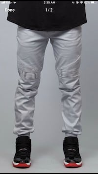 Biker denim size L