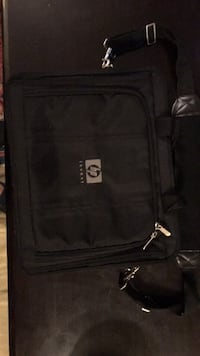 Black and gray laptop bag Richmond Hill, L4C 5B8