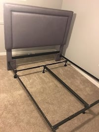 Upholstered Back board and frame.QUEEN size update!Box spring include. Olney, 20832